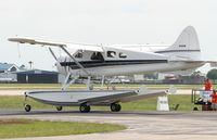 N107B @ LAL - DHC-2 Beaver - by Florida Metal