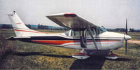 C-GGWX - My dad had this airplane in the early 80's.  Original paint job (shown) was later changed to blue and white. - by Allen F. Pearce