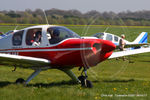 G-AZEW @ EGBT - at The Beagle Pup 50th anniversary celebration fly in - by Chris Hall