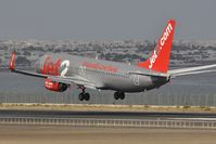 G-JZHY @ GCRR - Jet2 landing from London Stansted - by JC Ravon - FRENCHSKY