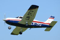 LN-TFU @ X3CX - Over head at Northrepps. - by Graham Reeve