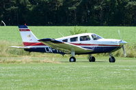 LN-TFU @ X3CX - Just landed at Northrepps. - by Graham Reeve