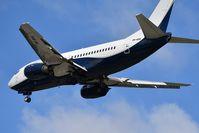 9H-AHA @ LFBD - Air X Charter / Volotéa colors V72433 landing runway 23 from Figari (FSC) - by JC Ravon - FRENCHSKY