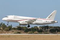 EI-FWA @ LMML - Sukhoi Superjet100 EI-FWA Cityjet