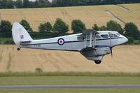 G-AIDL @ EGSU - Landing at Duxford. - by Graham Reeve
