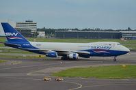 4K-SW008 @ EHAM - SILKWAY 747 - by fink123