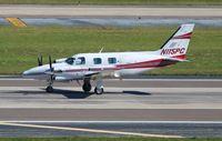 N115PC @ TPA - PA-31T - by Florida Metal