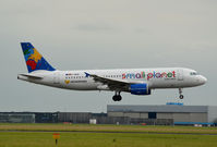 D-ABDB @ EHAM - SMALL PLANET GERMANY A320 - by fink123