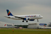 LY-SPA @ EHAM - SMALL PLANET A320 - by fink123