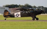 N120KH @ LAL - Piper L-21B - by Florida Metal