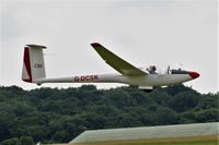 G-DCSK @ EGHL - Slingsby G DCSK being towed up at Lasham - by dave226688