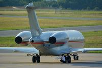 9H-VJH @ LOWG - Global 6000 and its Pilot on the tarmac - by Paul H