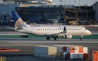 N127SY @ LAX - United Express - by Florida Metal