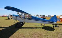 N128JS @ LAL - JS Cub homebuilt - by Florida Metal