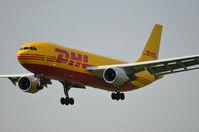 D-AEAQ @ EHAM - DHL A300 LANDING AT SCHIPHOL - by fink123
