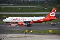 D-ABNV @ EDDL - Airbus A320-214 - AB BER Air Berlin - 2606 - D-ABNV - 27.04.2016 - DUS - by Ralf Winter