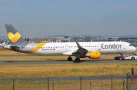 D-AIAE @ EDDF - Condor A321 under tug. - by FerryPNL