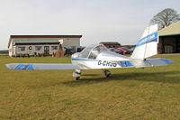 G-CHJG @ X5FB - Cosmik EV-97 TeamEurostar UK at Fishburn Airfield UK. February 7th 2015. - by Malcolm Clarke