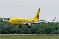 D-ATUG @ EDDR - Boeing 737-8K5, - by Jerzy Maciaszek