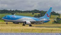 D-ATUR @ EDDR - Boeing 737-8K5 - by Jerzy Maciaszek