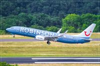 D-ATUI @ EDDR - Boeing 737-8K5 - by Jerzy Maciaszek