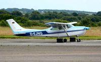 D-EJNG @ EGFH - Visiting Skylane RG. - by Roger Winser