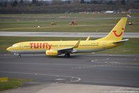 D-AHFV @ EDDL - Boeing 737-8K5(W) - X3 TUI TUIfly - 30415 - D-AHFV - 30.03.2016 - DUS - by Ralf Winter