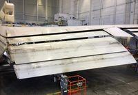N127UA @ KSFO - Inboard wing flaps. SFO. 2017. - by Clayton Eddy