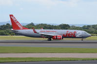 G-JZHC @ EGCC - Just landed at Manchester. - by Graham Reeve