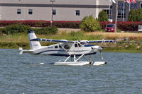 C-FDHC @ CYVR - Departing float base - by Guy Pambrun