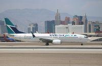 C-FBWI @ KLAS - Boeing 737-800 - by Mark Pasqualino