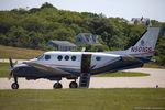 N501GS @ KBID - Beech C90 King Air CN LJ-964, N501GS