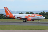 G-EZFJ @ EGCC - Just landed at Manchester. - by Graham Reeve