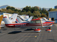 N11281 @ KCCR - Locally-based 1973 Cessna 150L @ Concord, CA - by Steve Nation