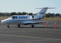 N100PF @ KSMF - 2000 Cessna 525 CitationJet CJ1 @ Sacramento Intl Airport, CA Exec Terminal - by Steve Nation