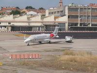 M-ABEU @ LEMD - Learjet 45 - by Christian Maurer
