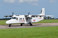 C-FPSH @ EGSH - Just landed at Norwich. - by Graham Reeve