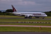 A7-BCJ @ EGCC - just laded on 23R - by andysantini