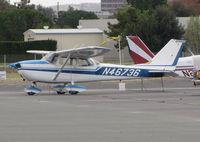 N46736 @ KCCR - Locally-based 1968 Cessna 172K Skyhawk @ Buchanan Field, Concord, CA - by Steve Nation