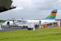 F-WWEH @ EGLF - ATR 72-600 of BRA at Farnborough International 2016