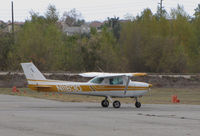 N11630 @ KAJO - Locally-based 1974 Cessna 150L taxiing  @ Corona MAP, CA (now registered to Bedrock Investments LLC, Cheyenne, WY) - by Steve Nation