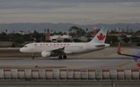 C-GBIK @ KLAX - Air Canada 1998 Airbus A319-114 lines up for takeoff @ LAX in late afternoon - by Steve Nation
