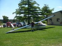 N91840 @ 40I - Schweizer 1-20 S/N 1 - The best glider I have ever seen - I mean it! - by Christian Maurer
