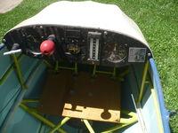 N91840 @ 40I - Schweizer SGU 1-20 Cockpit - by Christian Maurer