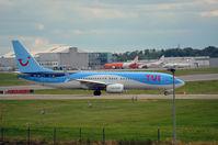 OO-JAU @ EBLG - TUI 737 - by fink123