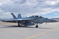 168255 @ KBOI - Parked on the south GA ramp. VAQ-130 Zappers. - by Gerald Howard
