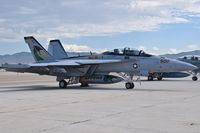 168268 @ KBOI - Parked on south GA pad. VAQ-130 Zappers. - by Gerald Howard