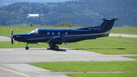 M-PCPC @ EDQD - M-PCPC Pilatus PC-12 Bayreuth Airport - by flythomas