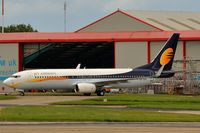A6-FDC @ EGSH - Jet Airways colour scheme. - by keithnewsome