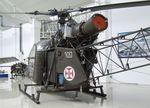 9217 - Sud-Est SE.3130 Alouette II at the Museu do Ar, Sintra - by Ingo Warnecke